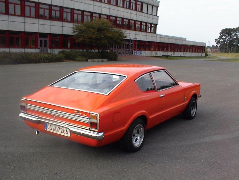 Ford Taunus Knudsen Coupe Ansicht: Heck