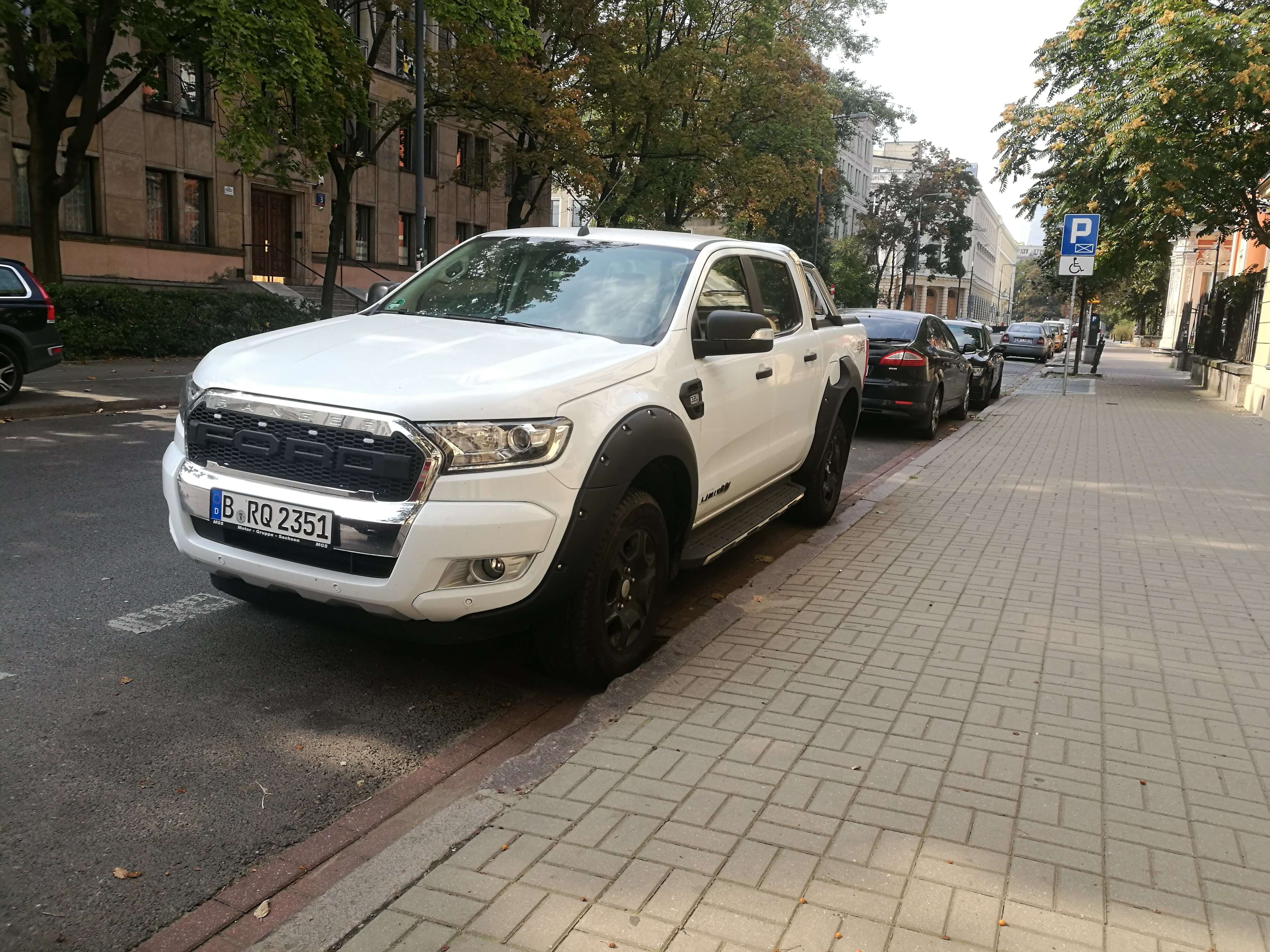 Ford Ranger Doppelkabine 3.2 Liter Automatik